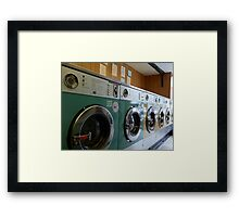 My beautiful launderette Framed Print