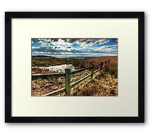 View across Poole Bay Framed Print