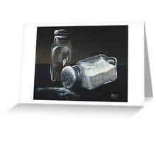 Salt N Peppa Greeting Card