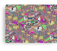 Vaporwave-Solitaire Trip Canvas Print