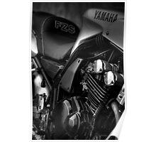 Yamaha FZS 600 Poster