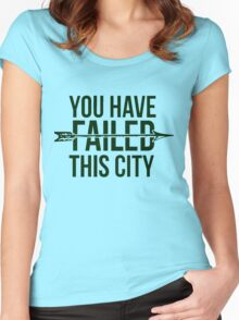 Failed City Women's Fitted Scoop T-Shirt