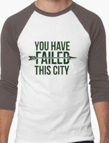 Failed City Men's Baseball ¾ T-Shirt