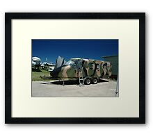GAF Nomad Trailer @ Bankstown Air Museum Framed Print
