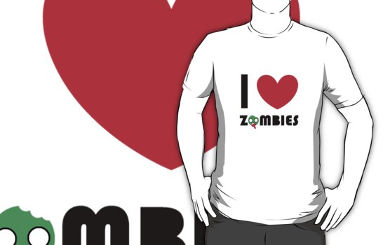 Jessie's special zombie T by Emily Squirrell