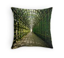 Within Queen Mary's Bower - Hampton Court Palace Throw Pillow