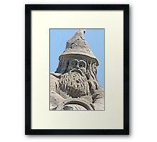 Wizard of Sand  Framed Print