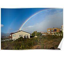 Rainbow Kiss Poster