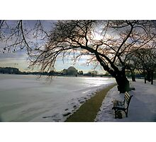 Dawn with Jefferson, Washington D.C.  Photographic Print