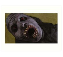 Listening to Fear - Queller Demon - BtVS Art Print