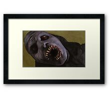 Listening to Fear - Queller Demon - BtVS Framed Print