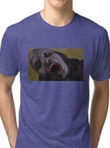 Listening to Fear - Queller Demon - BtVS Tri-blend T-Shirt