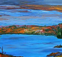 Sunset, Northern Ontario by Murray Pollard