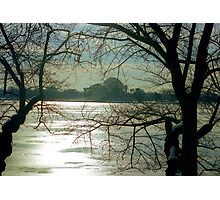 Icy Sunrise in DC  Photographic Print