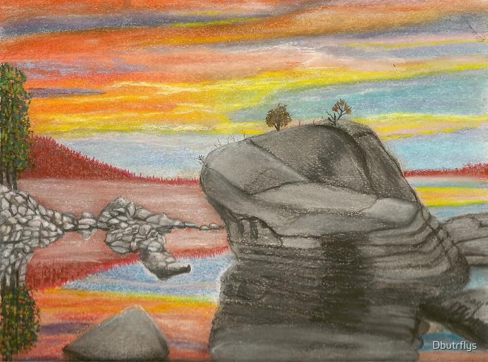 Sea Rocks by Dbutrflys