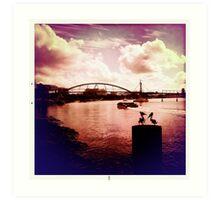 brisbane river views Art Print