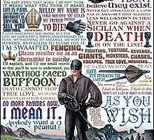 The Princess Bride Quote page by gabicozz