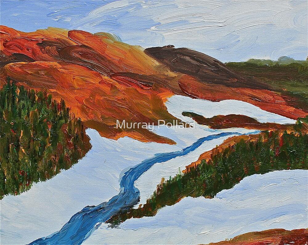 Quebec Winter by Murray Pollard