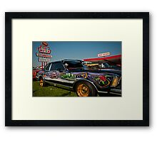 Low Rider at Top Notch with Blower Framed Print