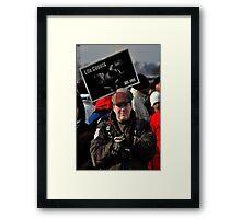 Life counts Framed Print