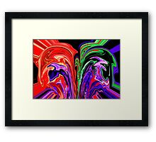 How I See Pain ©  Framed Print