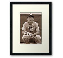 ball player Framed Print