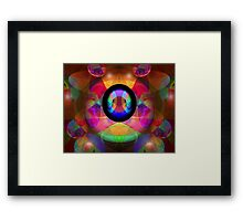 Magic Orbs Framed Print