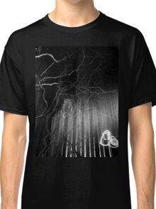 crazy branches with owl  Classic T-Shirt