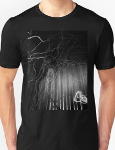 crazy branches with owl  T-Shirt