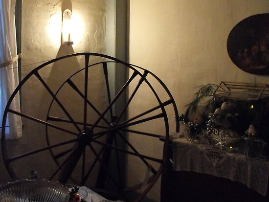 Spinning wheel by iheartrhody