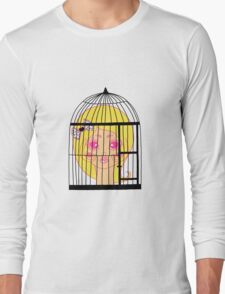 Girl in Cage Long Sleeve T-Shirt