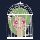 Girl in Cage 2 by Angel Szafranko
