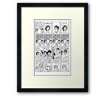 Dr. Joke Framed Print