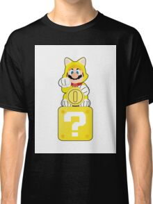 Lucky Cat Mario Classic T-Shirt