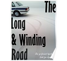 The Long & Winding Road Poster