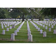 Arlington Cemetery Photographic Print