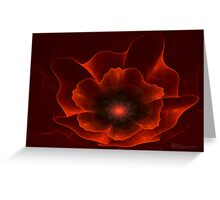 Apo Oriental Poppy Greeting Card