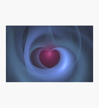 Take Care of My Heart Fractal Photographic Print