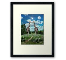 Star Kissed Framed Print