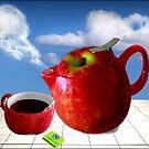 apfel tee by carol brandt