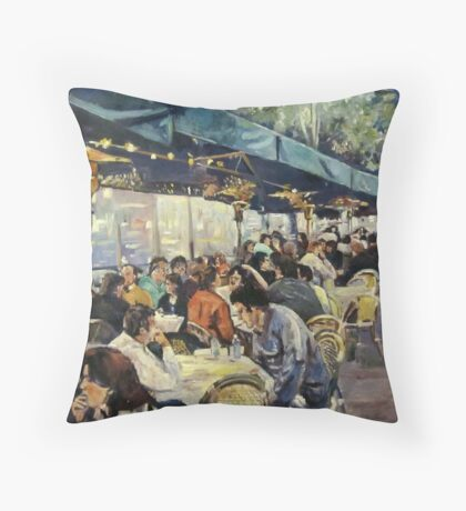 Lygon Street Throw Pillow