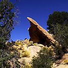 One Of Many Waterpocket Fold Rock Formations - Capitol Reef National Park, Garfield County, UT by Rebel Kreklow