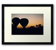 """""""Ballooning"""" Framed Print"""