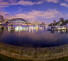 Lavender bay Panorama by donnnnnny