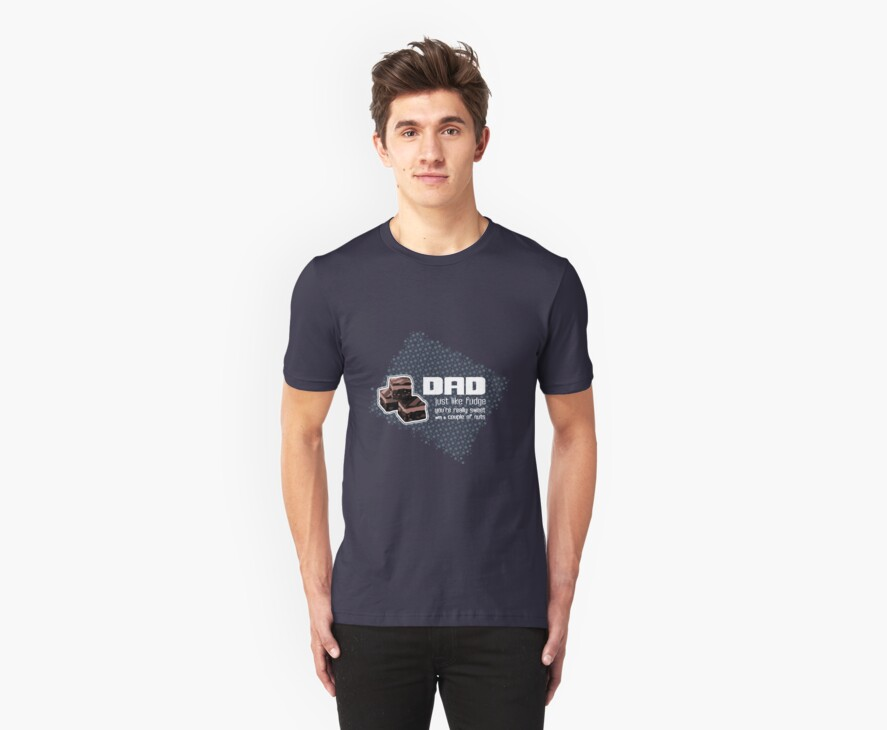 Fudging Father's Day T by Sarah Trett