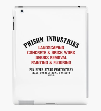 Prison Industries iPad Case/Skin