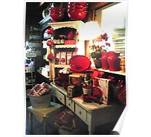 """""""COUNTRY STORE KITCHENWARE"""" Poster"""