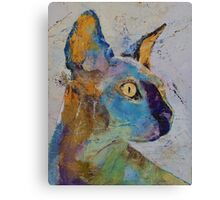 Sphynx Cat Canvas Print