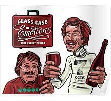 Glass Case of Emotion illustration Poster
