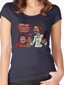 Glass Case of Emotion illustration Women's Fitted Scoop T-Shirt